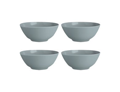 Classic Collection Set Of 4 Grey Bowls