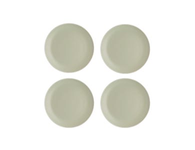 Classic Collection Set Of 4 Green Side Plates