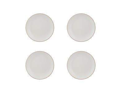 Classic Collection Set 4 Cream Side Plates