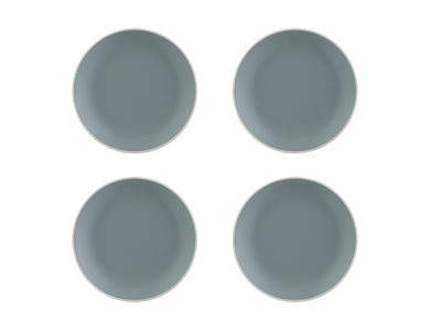 Classic Collection Set Of 4 Grey Side Plates