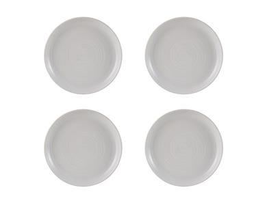 William Mason Set Of 4 White Side Plates
