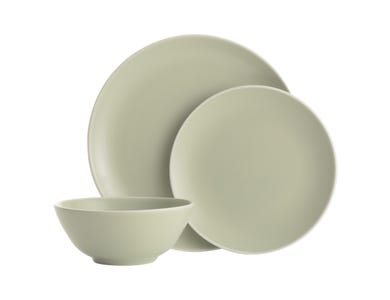 Image for Classic Collection Green 12 Piece Dinner Set