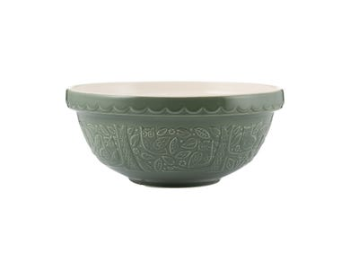 In The Forest Size 18 Green Mixing Bowl