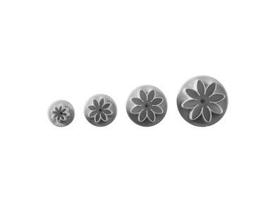 Image for Set Of 4 Daisy Plunger Cutters