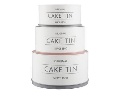 Image for Innovative Kitchen Set Of 3 Cake Tins