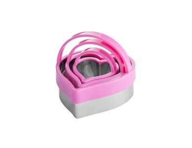 Image for Set 3 Safety Cutters Heart