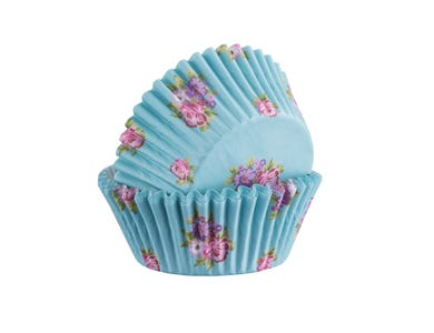 Image for Set 40 Floral Baking Cases
