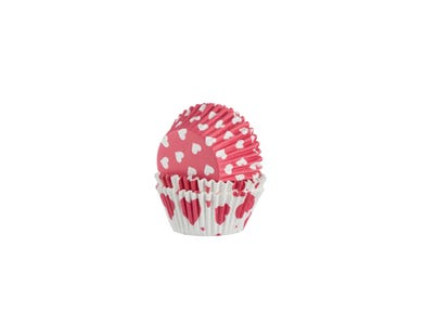 Image for Set 40 Hearts Baking Cases