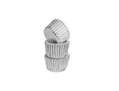 Image for Set 40 Silver Mini Cases