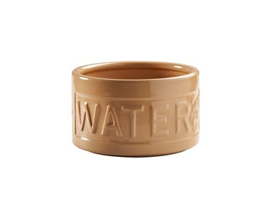 Image for Cane Lettered Dog Water Bowl 15cm