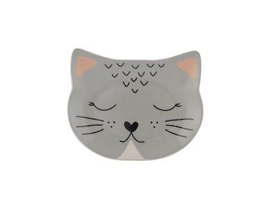Image for Smokey Cat Bowl 16x13cm