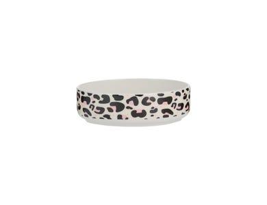 Image for Leopard Print Cat Bowl 13x4cm