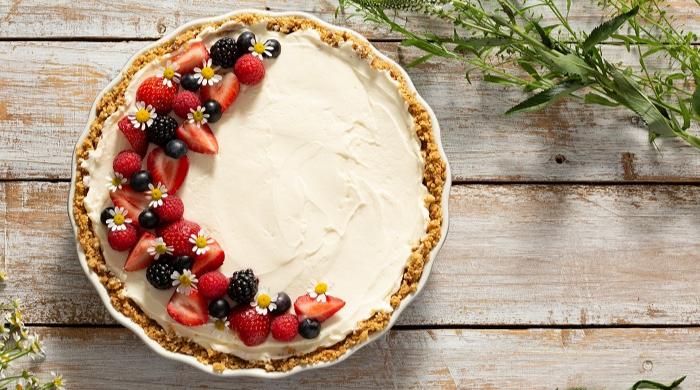 Mason Cash No-Bake Summer Cheesecake Recipes